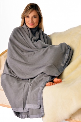 Pure Cashmere Twin Size Blanket