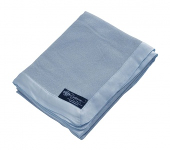 Pure Cashmere Baby Blanket in Baby Blue