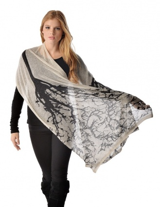 Pure Cashmere Printed Shawl