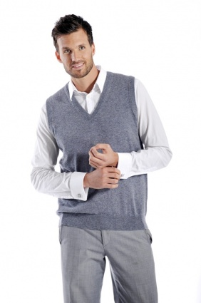 Pure Cashmere Vest for Men