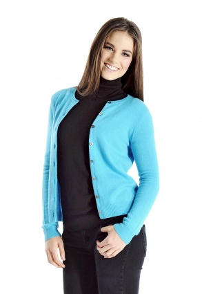 Pure Cashmere Cardigan for Women