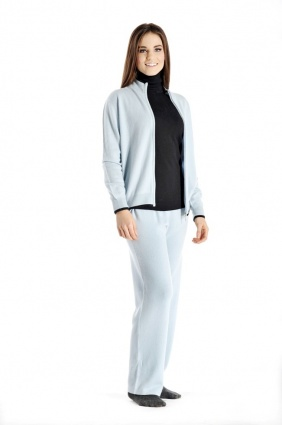 Pure Cashmere Lounge Set and Track Suit for Women
