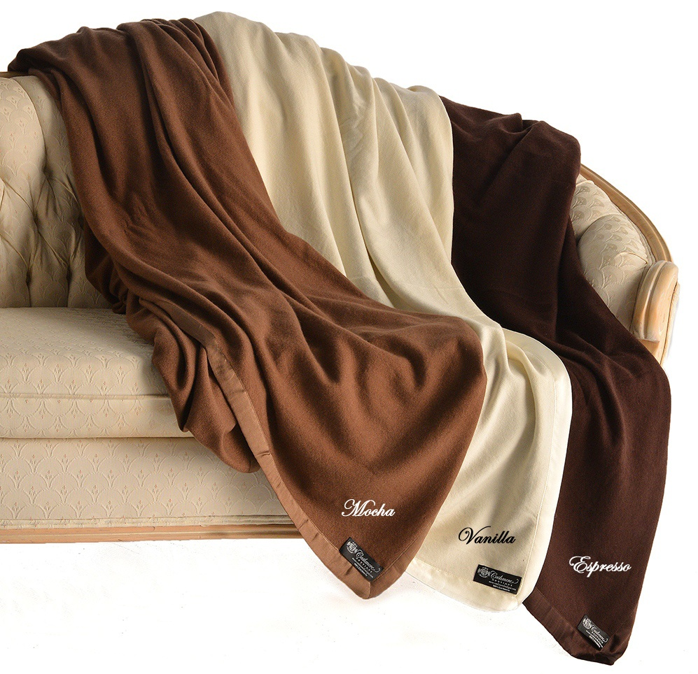 Cashmere Boutique Pure Cashmere Queen Blanket in 4 Ply at Sears.com