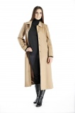 Pure Cashmere Full Length Overcoat for Women