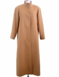Cashmere Blend Full Length Overcoat for Women