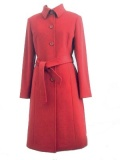 Cashmere Blend Kneelength Overcoat for Women